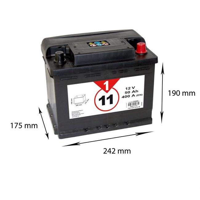 Batterie 1er Prix Confiance Bvp11 50 Ah 400 A Norauto Fr