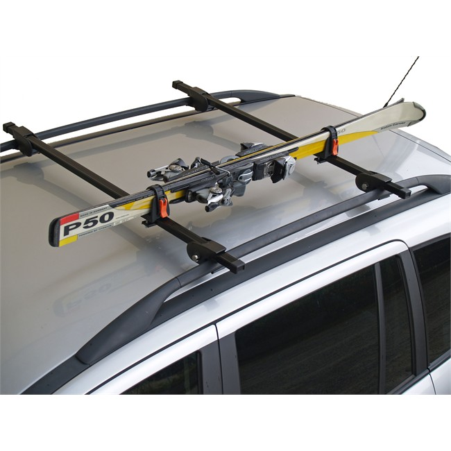 porte skis sur barres de toit menabo ski rack 423618 pour. Black Bedroom Furniture Sets. Home Design Ideas