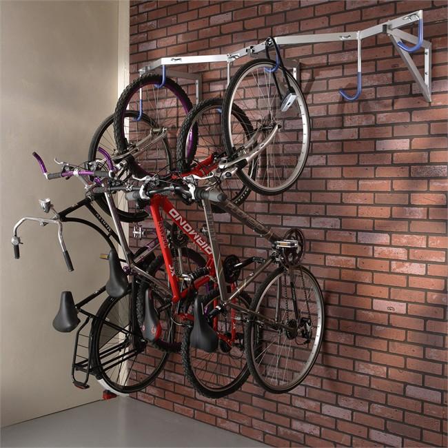 Parfait Range Vélos Mural Pour 6 Vélos MOTTEZ B138C