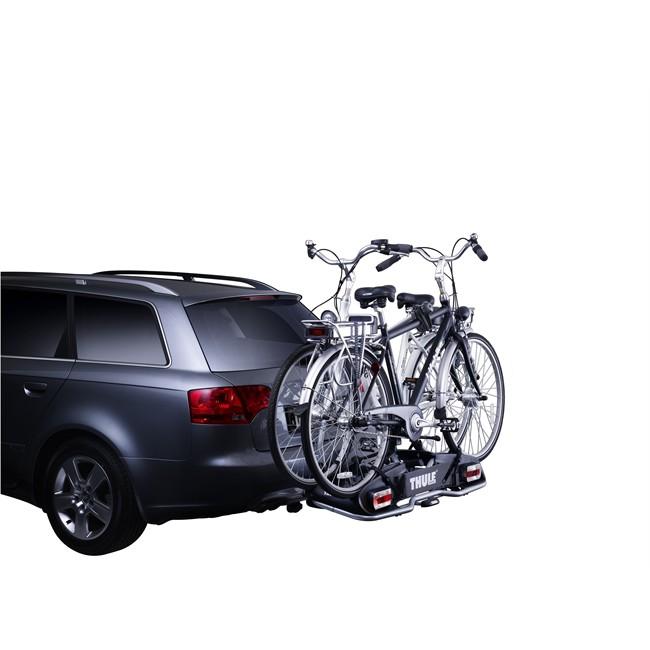 Porte-vélos › Porte-velos attelage Porte-vélos d'attelage plate-forme THULE  EuroPower 916 pour 2 vélos compatible vélos électriques