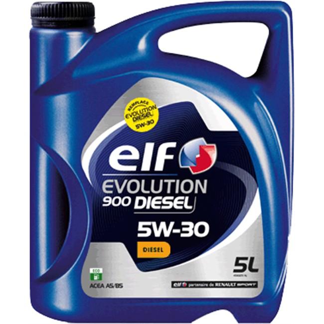 huile moteur elf evolution 900 5w30 diesel 5 l