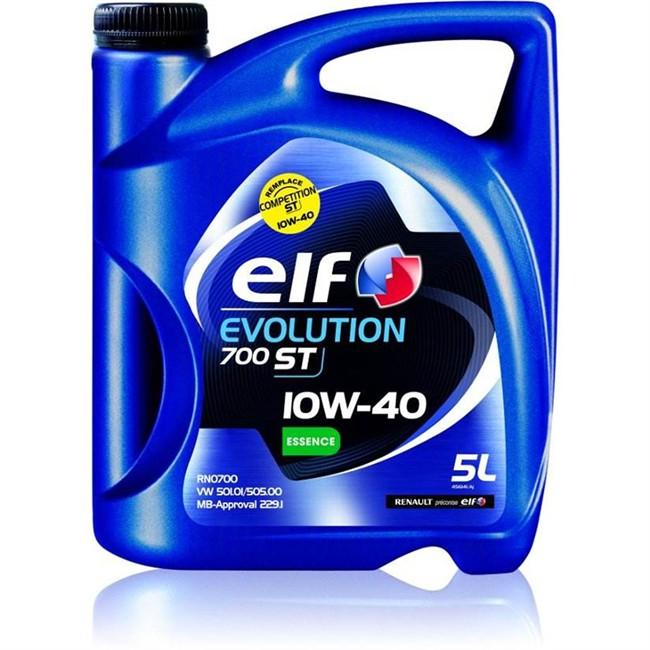 huile moteur elf evolution 700 st 10w40 essence 5 l