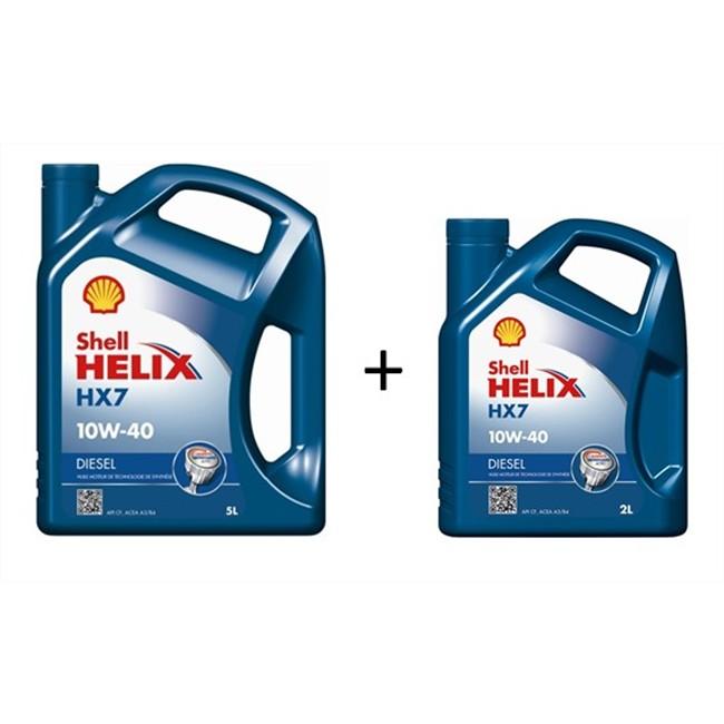 Huiles Liquides Huile Moteur Huile Moteur Shell Helix Hx7 10w40 Diesel 5 L 2 L