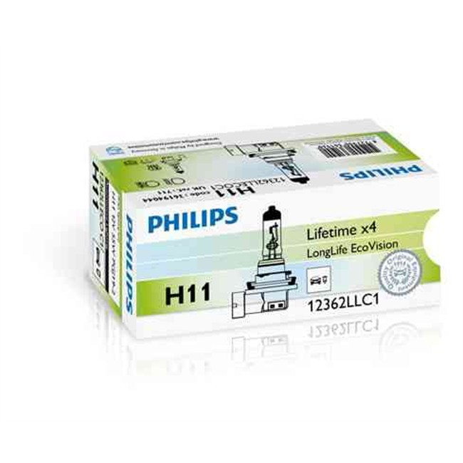 1 Ampoule Philips H11 Vision 55 W 12 V