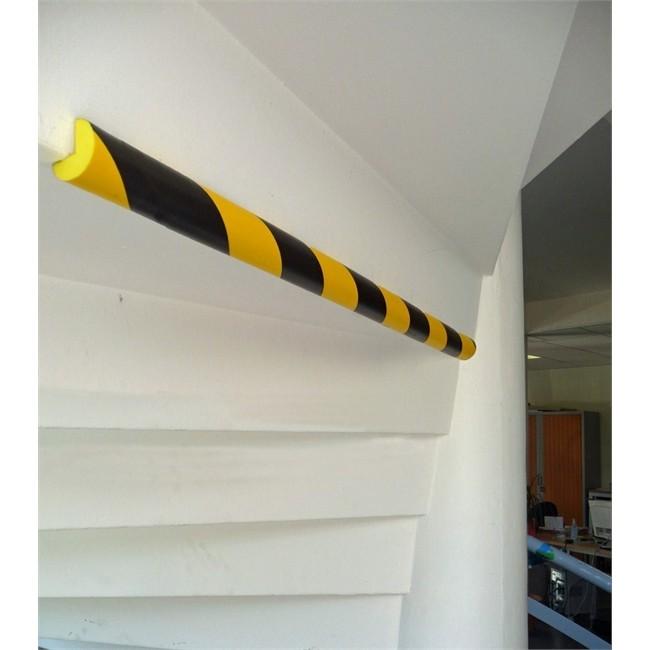 1 mousse de protection 3 4 rond noire et jaune 75 cm viso 75 pu4025nj. Black Bedroom Furniture Sets. Home Design Ideas