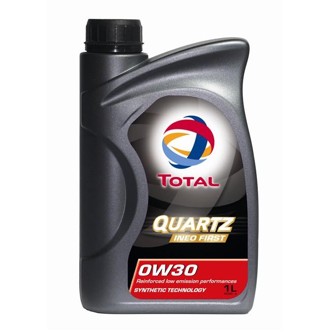 Huile Moteur Total Quartz Ineo First 0w30 Essence 1 L