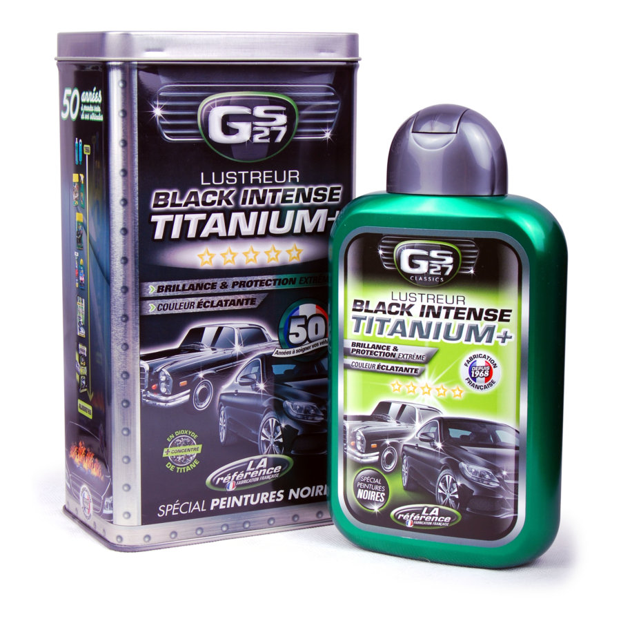 Lustreur TITANIUM+ Black Intense GS27 500 ml