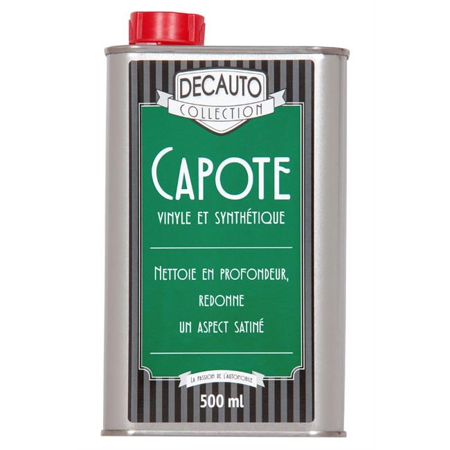 Entretien Pour Capote Vinyle Decauto Collection 500 Ml