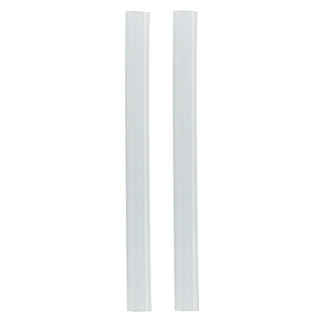 2 butoirs transparents clipser pour porti res 21 5 cm. Black Bedroom Furniture Sets. Home Design Ideas
