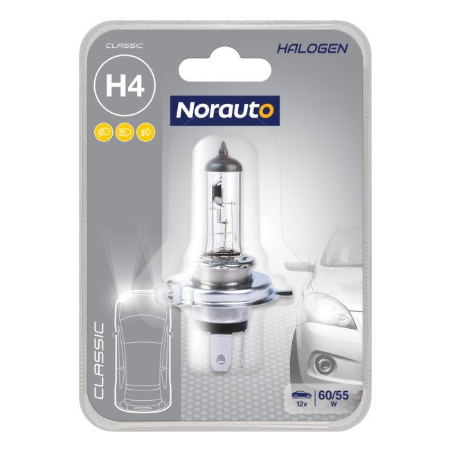 1 Ampoule H4 Norauto Classic