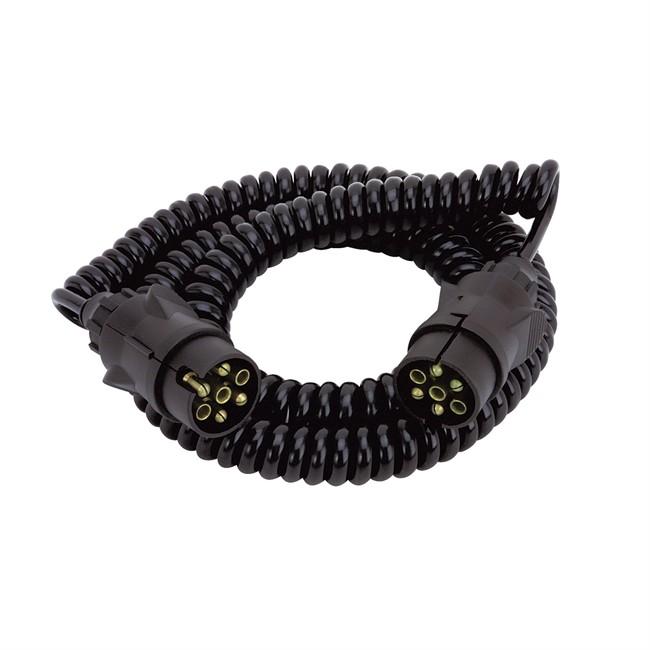 Rallonge Spirale De 5 M Spotlight 7 Plots Mâle/mâle