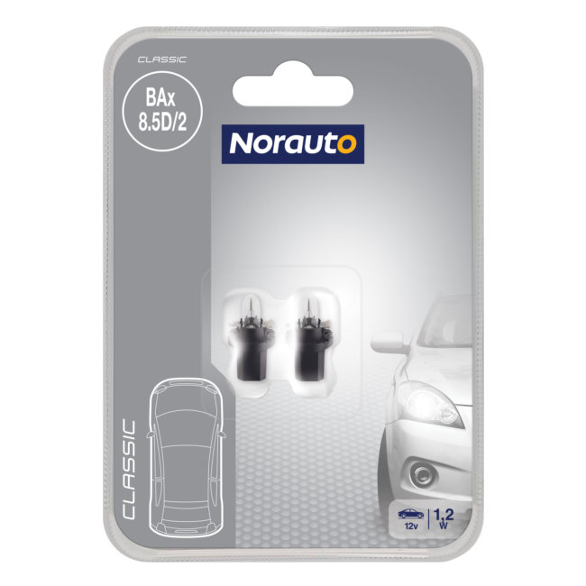 2 Ampoules Bax Norauto Classic