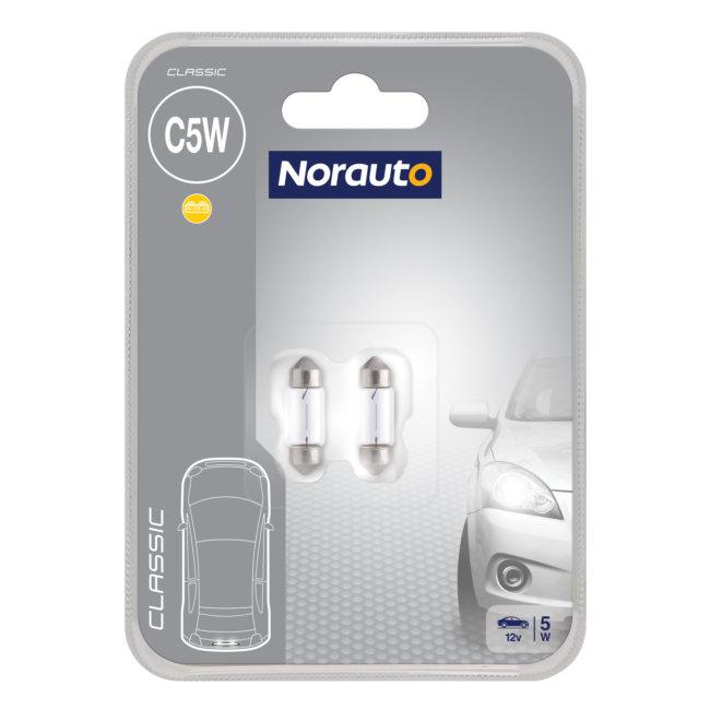 2 Ampoules Navette C5w Norauto Classic