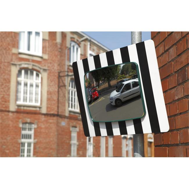 miroir sortie garage ou parking voie publique 60 x 45 cm mottez b319ppv. Black Bedroom Furniture Sets. Home Design Ideas