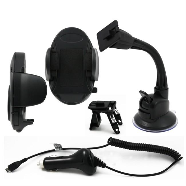 produit support de telephone sur ventouse grille ventilation chargeur micro usb muvit