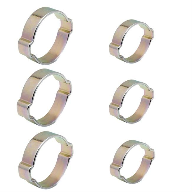 6 Colliers À Oreilles Michelin Ø 6-11 Mm Et Ø 8-13 Mm