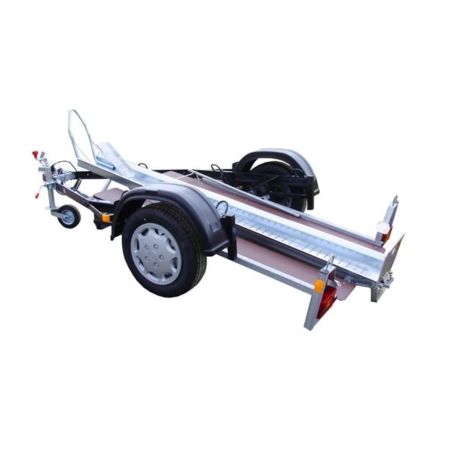 Remorque porte 1 moto rail large 500 kg type top rgw 500 - Remorque porte moto pour camping car ...