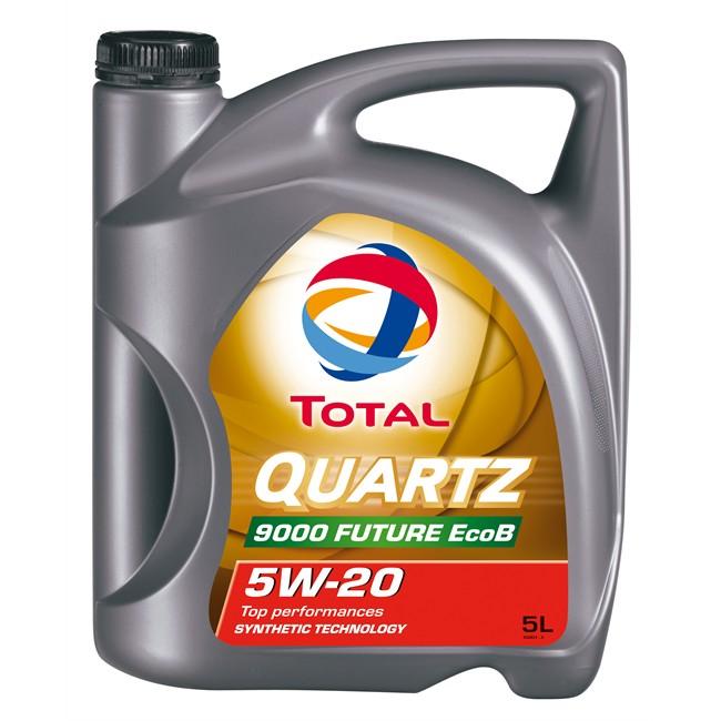 huile moteur total quartz 9000 future ecob 5w20 essence et diesel 5 l. Black Bedroom Furniture Sets. Home Design Ideas