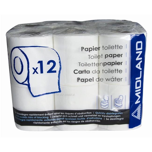 12 rouleaux de papier toilette pour wc chimique midland. Black Bedroom Furniture Sets. Home Design Ideas