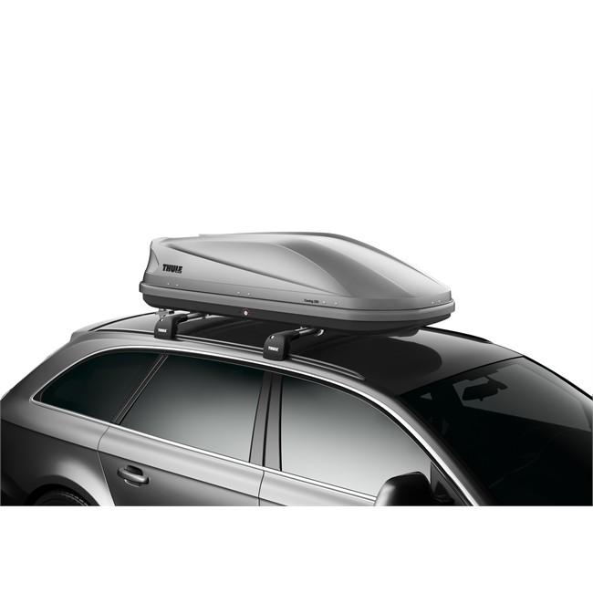 coffre de toit taille m thule touring 200 gris 400 l. Black Bedroom Furniture Sets. Home Design Ideas