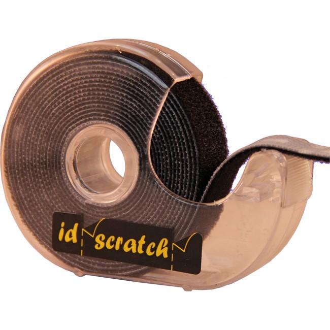 bande auto agrippante noire r utilisable id scratch 2m. Black Bedroom Furniture Sets. Home Design Ideas