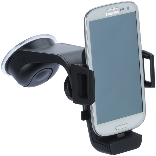 support de smartphone sur ventouse avec chargeur micro usb igrip. Black Bedroom Furniture Sets. Home Design Ideas
