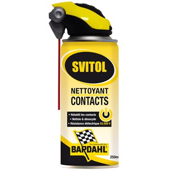 Nettoyant contacts svitol 250 ml - Nettoyant contact electrique ...
