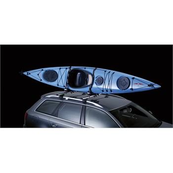 Porte kayak hull a port pro thule 837 for Porte kayak voiture
