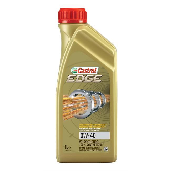 Huile Moteur Castrol Edge 0w40 Essence Et Diesel 1 L