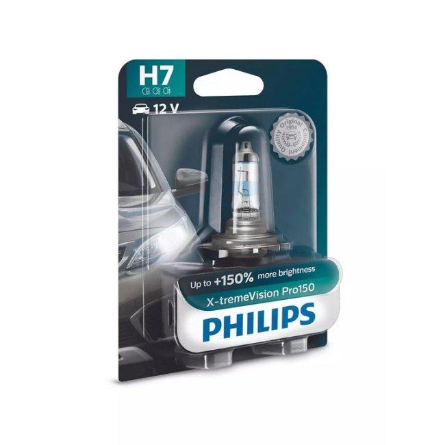 1 Ampoules Philips H7 X-treme Vision Pro150 12v 55w