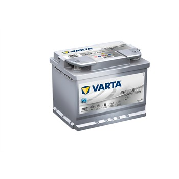 Batterie VARTA D52 Start & Stop Silver Dynamic AGM 60 Ah - 680 A