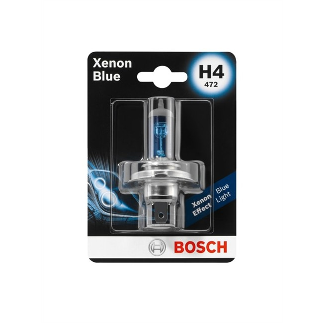 1 ampoule bosch h4 xenon blue 12 v. Black Bedroom Furniture Sets. Home Design Ideas