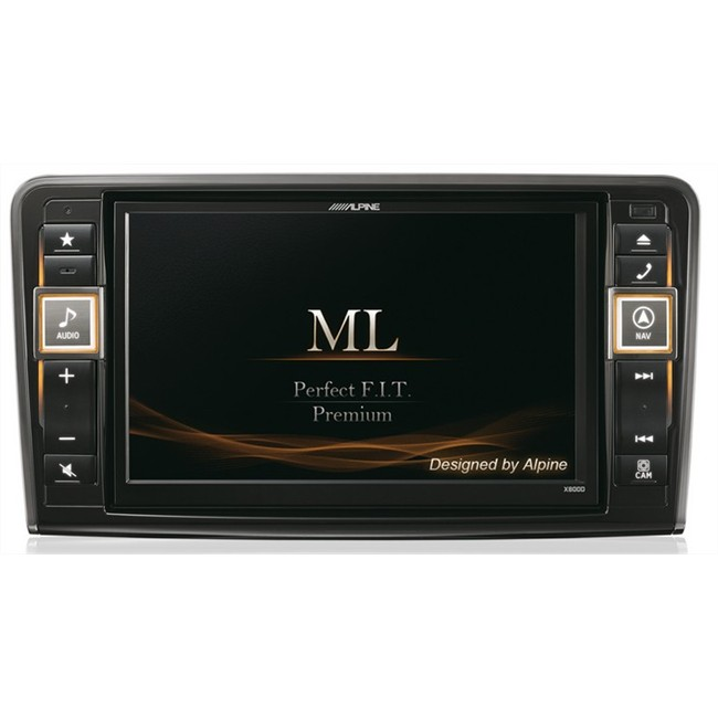 autoradio gps alpine x800d ml pour mercedes. Black Bedroom Furniture Sets. Home Design Ideas