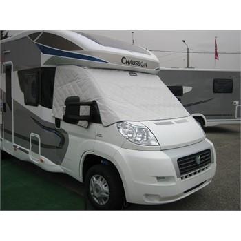 prot ge pare brise pour camping car en pvc soplair. Black Bedroom Furniture Sets. Home Design Ideas