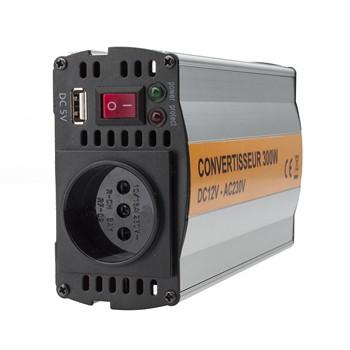 Convertisseur avec port usb 12v 230v 300 w 29 a eu norauto - Convertisseur port parallele vers usb ...