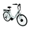 Vélo électrique Wayscral City 415 blanc (batterie non incluse)