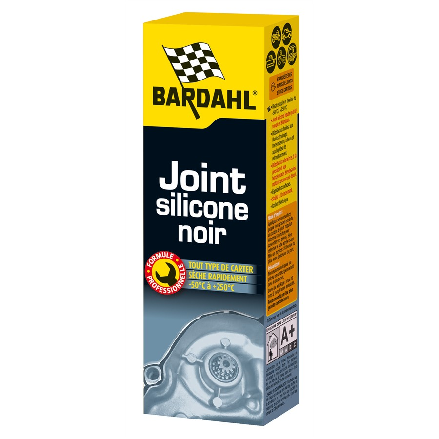 Joint silicone multi-usages noir BARDAHL 90 g
