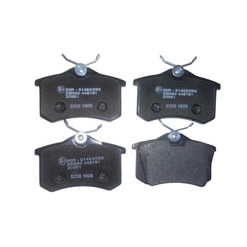 4 plaquettes de frein norauto nrp1083. Black Bedroom Furniture Sets. Home Design Ideas