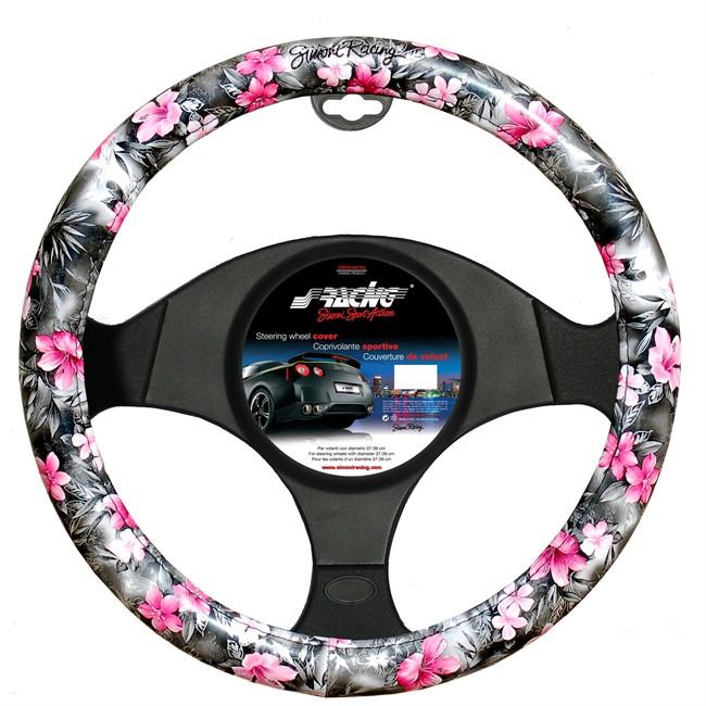 Couvre Volant Simoni Racing Flowers