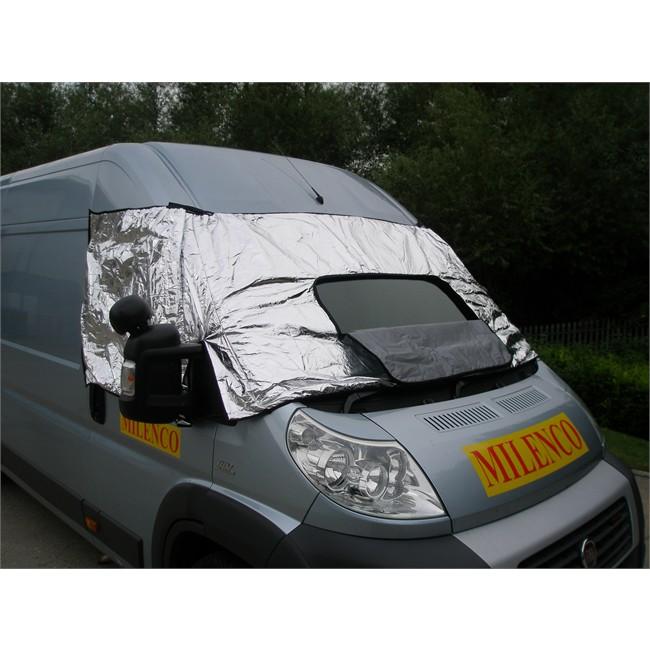 prot ge pare brise pour camping car en pvc milenco 420 x 96 cm. Black Bedroom Furniture Sets. Home Design Ideas