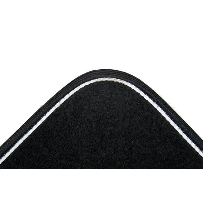4 tapis de voiture universels moquette norauto arabesk noirs. Black Bedroom Furniture Sets. Home Design Ideas