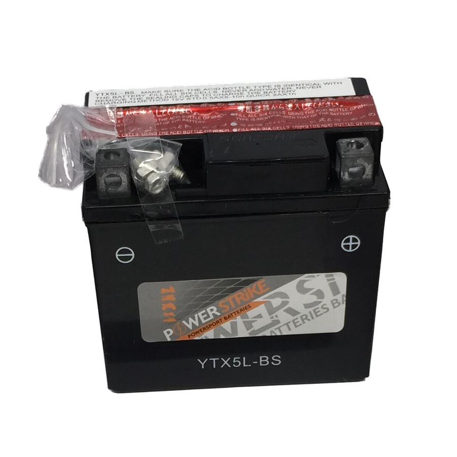 Batterie moto Power Strike YTX5L-BS