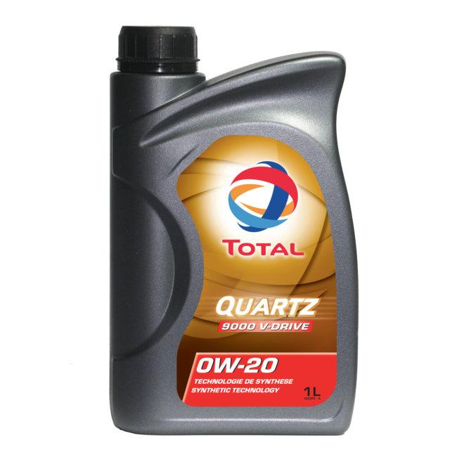 Huile Moteur Total Quartz 9000 V-drive 0w20 Essence Et Diesel 1 L