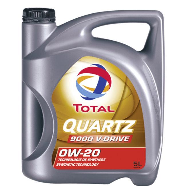 Huile Moteur Total Quartz 9000 V-drive 0w20 Essence Et Diesel 5 L
