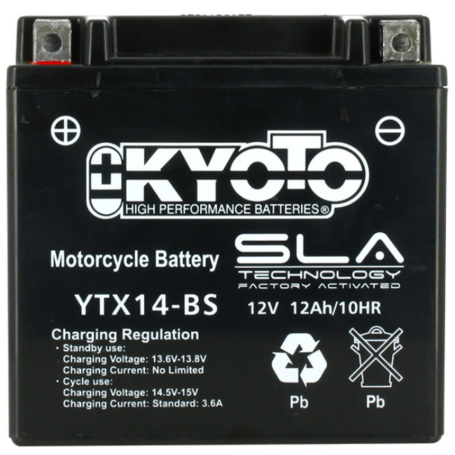 Batterie Moto Kyoto Ytx14-bs