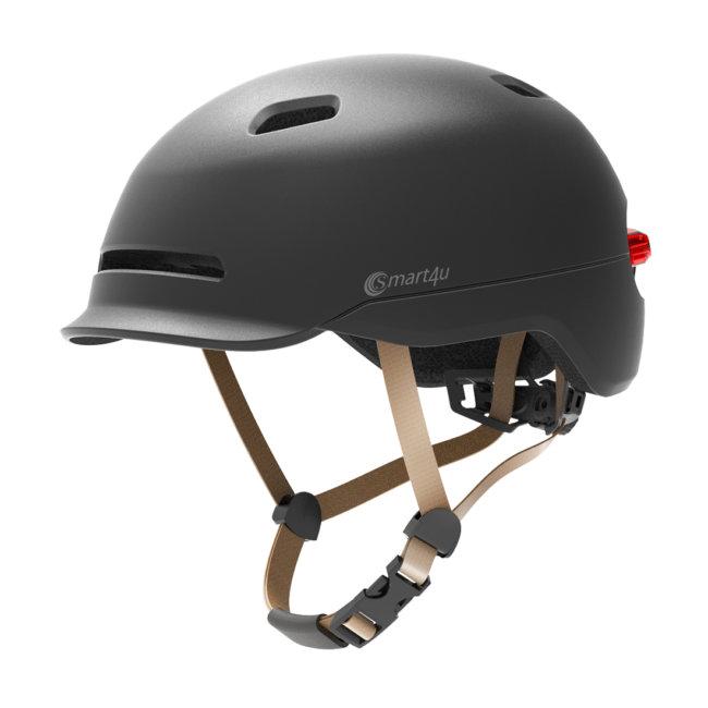 Casque Vélo Adulte Smart 4u Noir Mat Taille M