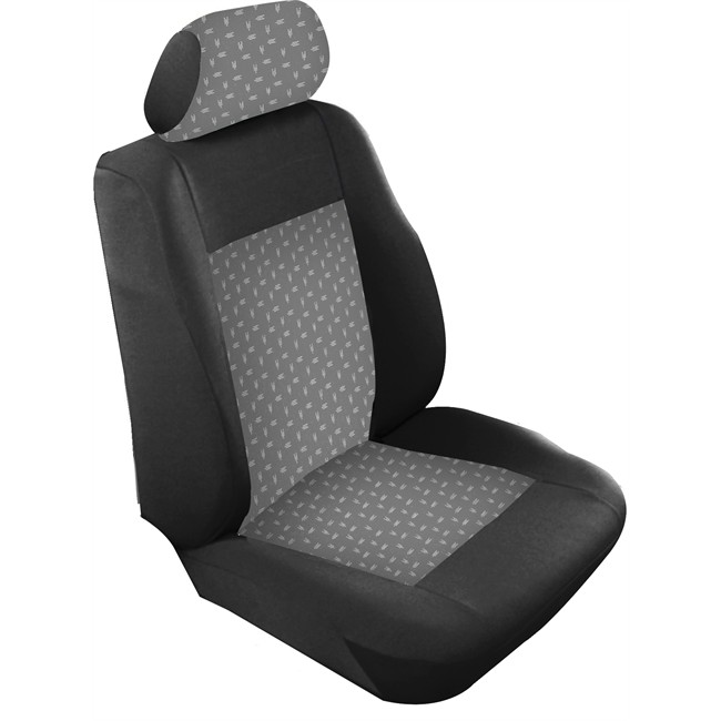 jeu complet de housses sur mesure voiture bancarel tissu avorio av3. Black Bedroom Furniture Sets. Home Design Ideas