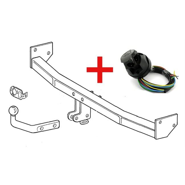 attelage crochet col de cygne d montable avec outils. Black Bedroom Furniture Sets. Home Design Ideas