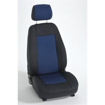 jeu complet de housses sur mesure voiture bancarel tissu damier da8. Black Bedroom Furniture Sets. Home Design Ideas