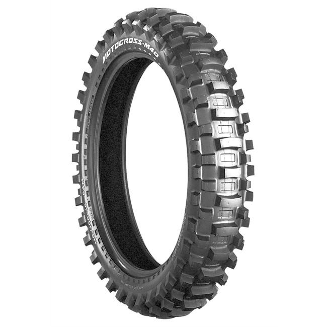 Pneu - Moto - M40 - Bridgestone - 2.50---10-33-J